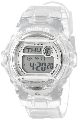 Casio Women'S Bg169R-7B Baby-G Clear Whale Digital Sport Watch front-946795