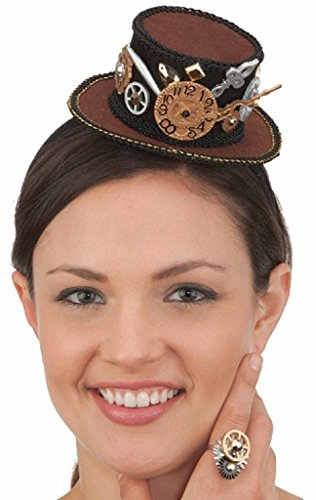 Mini Steampunk Hat on Headband