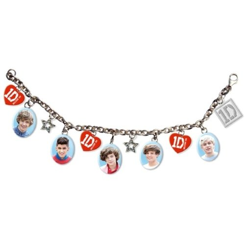 One Direction (1D) Charm Bracelet - Stars (Bracelets One Direction compare prices)