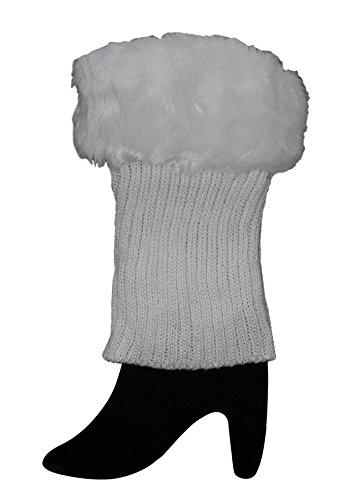 Faux  (White Sexy Boots)