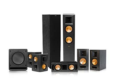 Klipsch RF-62 II Reference Series 7.1 Home Theater System (Black) by Klipsch