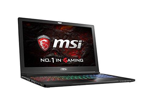 MSI VR Ready GS63VR Stealth Pro 4K-021 15.6″ 4K Display Slim and Light Gaming Laptop GTX 1060 i7-6700HQ 16GB 512GB M.2 SATA + 1TB