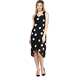 LY2 Black and Cream dot Western Wear for Stunning look
