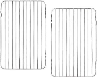 """(2 Pack) Broiler / Roasting Rack Rectangular 12"""" x 7½"""""""