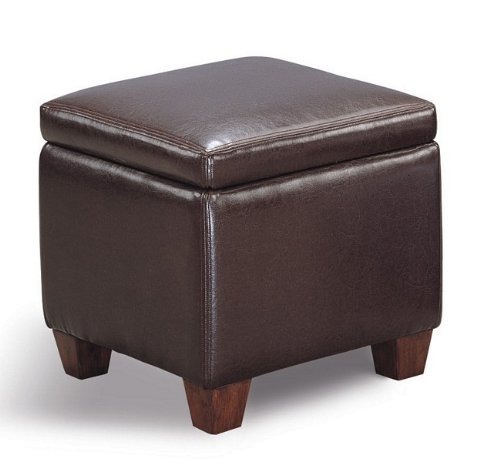 cheap ottomans and footstools rating review dark brown