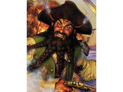 Pirates Life Boxed Jigsaw Puzzle - BlackBeards Revenge 550pc