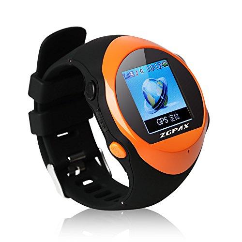 ZGPAX-PG88-Smartwatch-Montre-Intelligente-de-Plein-Air-avec-GPS-Location-SOS-Prvenir-La-Perte-Smartwatch-de-Sport-SIM-Smartphone-Orange