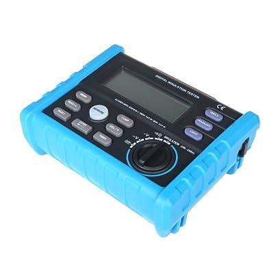 Docooler Digital Insulation Tester Meter 250V~2500V 0.01M¦¸~100.0G¦¸ Multimeter