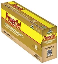 POWERBAR Food DBL Latte Gel with Double Caffeine (Box of 24)