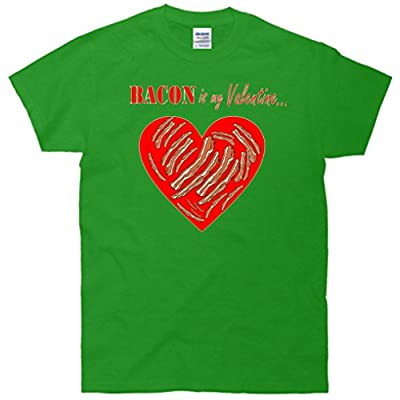 Bacon Is My Valentine Funny V-Day T-Shirt
