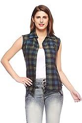 Fasnoya Women's Reversible Sleeveless Shirt