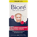 Biore Deep Cleansing Pore Strips, 24 Count ~ Bior�