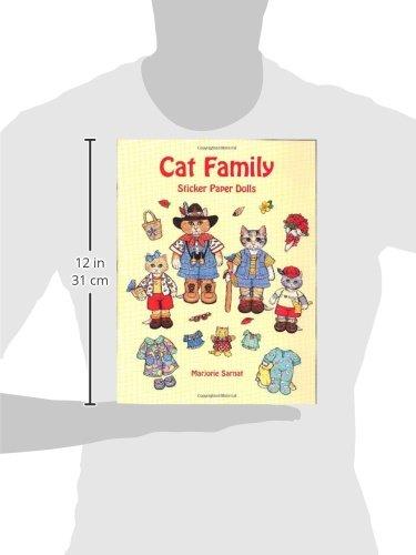 Cat Family Sticker Paper Dolls (Dover Paper Dolls)