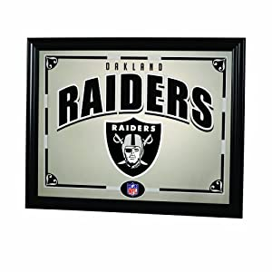 NFL Oakland Raiders 22 Inch Printed Mirror by The Memory Company