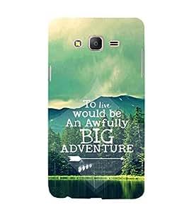 EPICCASE Big adventure Mobile Back Case Cover For Samsung Galaxy On5 (Designer Case)