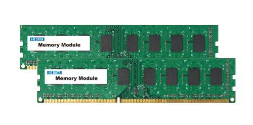 アイ オー データ機器 DY1600-4GX2/ST デスクトップ用 PC3-12800 DDR3-1600 対応メモリー モデル 4GB×2枚 法人専用