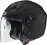 HJC Helmets IS-33 Helmet (Matte Black, Large) by HJC Helmets
