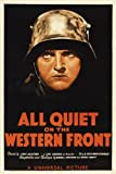 All Quiet on the Western Front Poster Movie E 11 x 17 In - 28cm x 44cm Lew Ayres Louis Wolheim John Wray Slim Summerville Russell Gleason Raymond Griffith