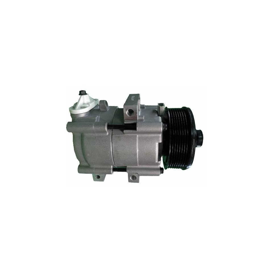 New A/C Compressor with Clutch, 1997 1998 1999 2000 Ford Econoline Van 4.6L 5.4L 6.8L, 1997 1998 1999 2000 2001 Expedition All Engines, 2002 2003 Ford F150 Pickup Harley Davidson Only 5.4L, 2000 Ford Excursion 5.4L 6.8L, 2000 Ford Automotive
