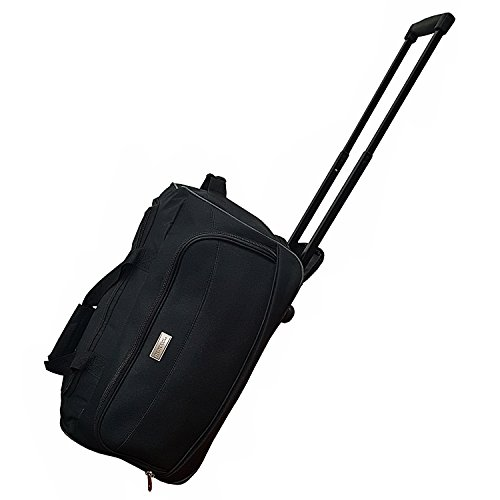 cabin-size-roller-travel-bag-duffel-bag-hand-luggage-wheeled-trolley-holdall-duffle-wheely-carry-bag
