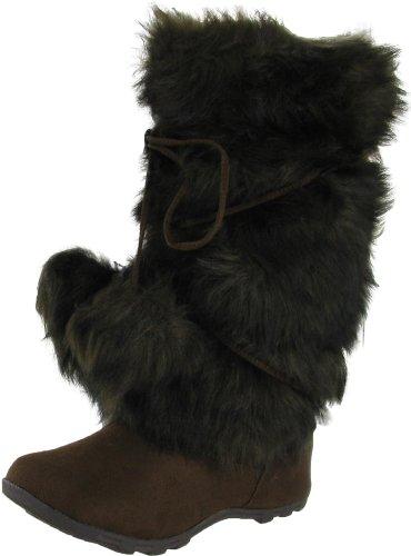 Hot Fashion Blossom Tara Hi Women's Mukluk Faux Fur Boots Brown Size 6