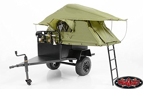 RC4WD Bivouac M.O.A.B Camping Trailer with Tent, 1/10 Scale