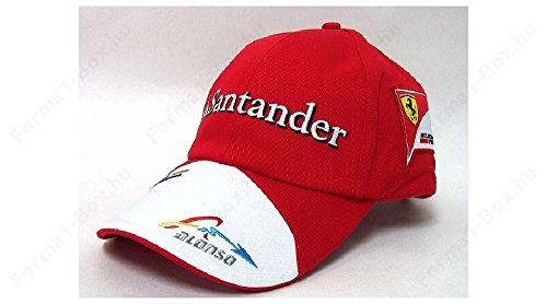 Puma Ferrari Alonso Baseball regolabile Authentic, Uomo, rosso