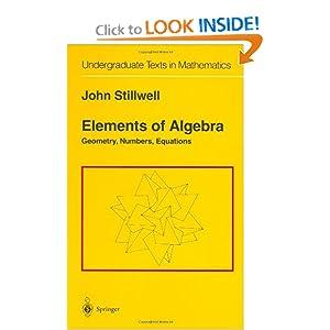abstract algebra - Example of infinite.