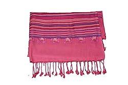 Kinari Women's Viscose Stole (Pink)