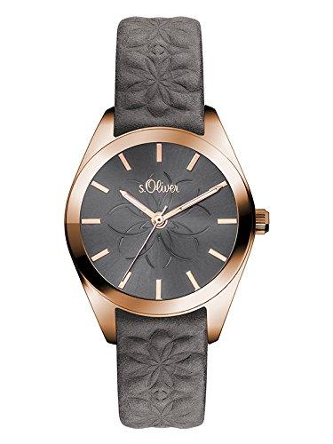 sOliver-Damen-Armbanduhr-Analog-Quarz-Leder-SO-3079-LQ