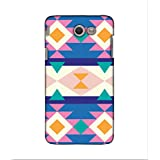 FUSON Designer Back Case Cover For Samsung Galaxy J5(2017) (flowers Square Triangle Hills Hexagone)