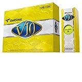 ブリヂストン(BRIDGESTONE) TOUR STAGE ツアーステージ V10 スーパーイエロー 12個入 VXYX