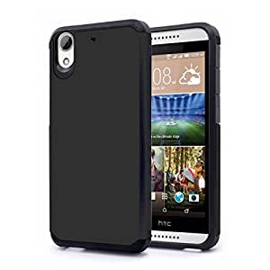 Zizo Cell Phone Case for HTC Desire 626a- Retail Packaging - Black