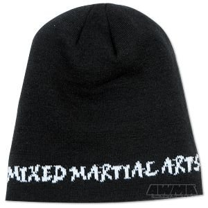 ProForce Beanie - Mixed Martial Arts Script Black