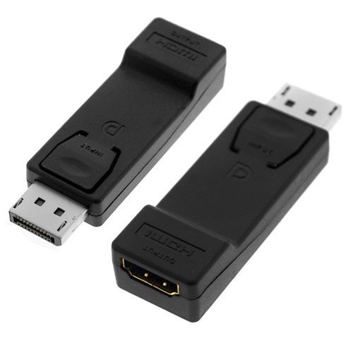 C&E TOOGOO Display Port to HDMI Converter with Audio Adapter