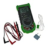Digital Multimeter With Temp, Capacitance & Frequency