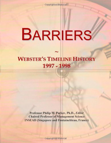 Barriers: Webster's Timeline History, 1997 - 1998