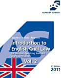 Introduction to English Civil Law: for German-Speaking Lawyers and Law Students Vol. 2