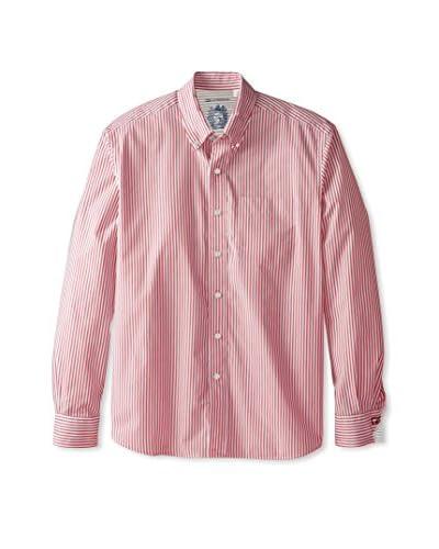 Cutter & Buck Men's Cutter Bengal Stripe Long Sleeve Shirt
