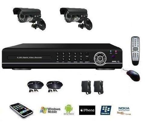 kit vid o surveillance 2 cam ras enregistreur ip meilleure offre camera surveillance. Black Bedroom Furniture Sets. Home Design Ideas