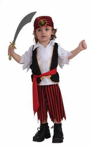 [Forum Novelties Toddler Lil' Pirate Boy Costume] (Toddler Boys Pirate Costumes)