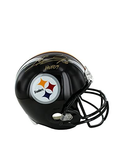 Steiner Sports Memorabilia Rod Woodson Pittsburgh Steelers Autographed Authentic Helmet Inscribed H...