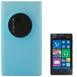 Translucent Frosted Plastic Case for Nokia Lumia 1020 (Baby Blue)