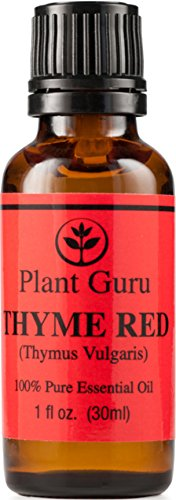 Thyme Red Essential Oil. 30 Ml (1 Oz) 100% Pure, Undiluted, Therapeutic Grade.
