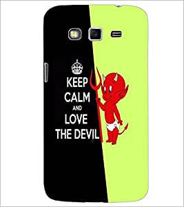 PrintDhaba Quote D-5088 Back Case Cover for SAMSUNG GALAXY GRAND 2 (Multi-Coloured)