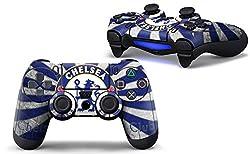 PS4 controller skin ( sticker ) of Chelsea {( standard , blue )