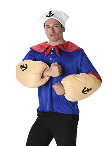 Men's Sailor Man - Halloween Costume (XL) (1940 Captain America compare prices)