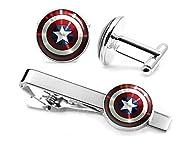 Captain America Cufflinks, The Avenge…