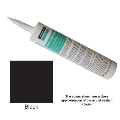 Black Dow Corning Contractors Weatherproofing Sealant (CWS) - 12 Tubes (Case)