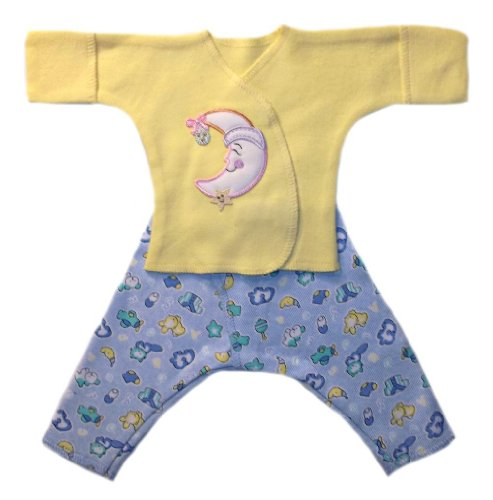 Jacqui's Preemie Pride Baby-boys Smilin' Moon Clothing Set